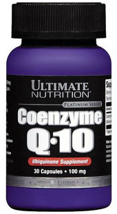 Ultimate Nutrition Coenzyme Q10 100% Premium 100 мг (30 кап)
