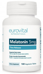 EUROVITAL Melatonin 5 мг TR (100 таб)