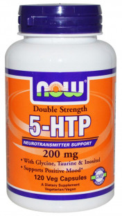 NOW 5-HTP (200 мг) 60 кап