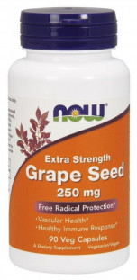 NOW Grape Seed Extract 250 мг (90 кап)
