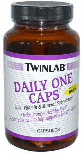 Twinlab Daily One Caps without Iron (60 кап)