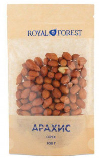 Royal Forest арахис (100 г)