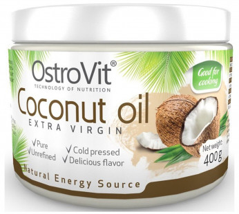 Ostrovit Coconut Oil Extra Virgin (400 гр)